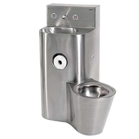 AC04-040 WC and wash basin combination unit